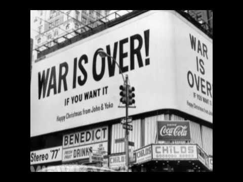 John Lennon  Happy Xmas War Is Over