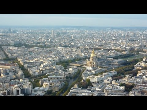 View from Tour Montparnasse, Paris