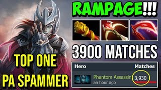 WTF Crit Like a Hacker 90% Crit Rate with Daedalus 34Kills 2x RAMPAGE by TOP 1 PA SPAMMER Dota 2