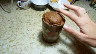 Маффин в микроволновке за пару минут или шоколадный кексик в стакане.Muffin in the microwave