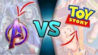 Avengers Endgame VS Toy Story 4