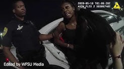 (EXPLICIT) Bodycam: Tallahassee Police detain woman outside Hobbit American Grill, May 17, 2020