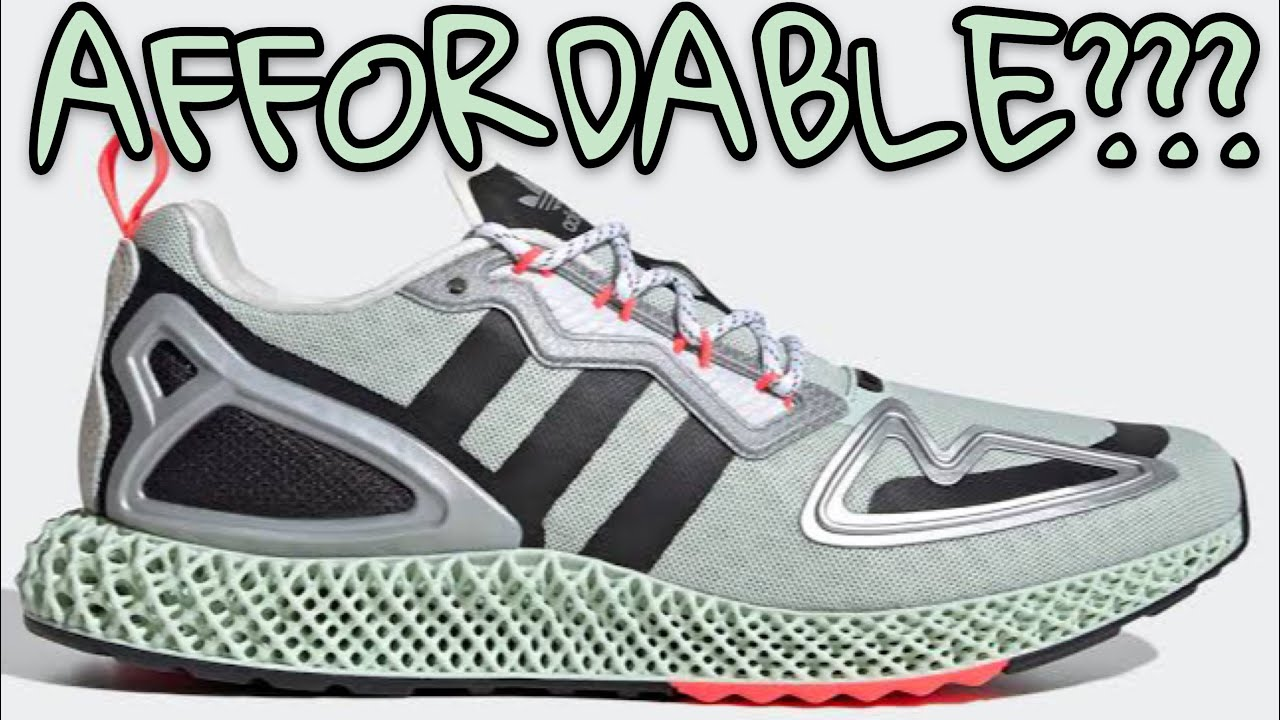 2 Conspiracy Theories that have Nothing to do with the ADIDAS ZX 2K 4D・アディダス ZX 2K 4D スニーカー sneakers