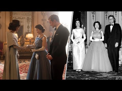 The night Jackie made the Queen jealous and left teary, claims Netflix drama The Crown