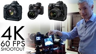 Canon 1DX Mark II 4K/60p Video Camera Review: vs Nikon D5, Sony a7R II