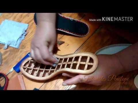 Pegado de Zapato (utilizando la estufa )