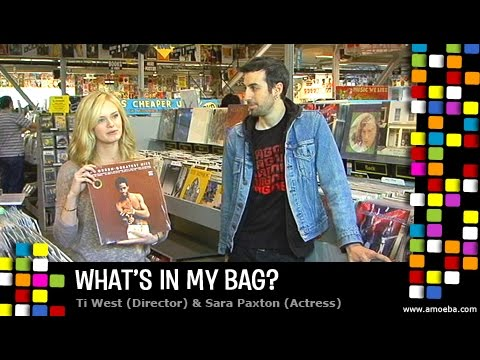 Ti West and Sara Paxton  What's In My Bag?
