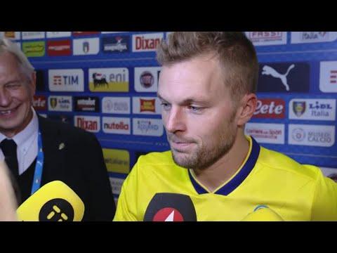 """Larsson: """"Känslorna svallade över när man hörde slutsignalen"""" - TV4 Sport"""