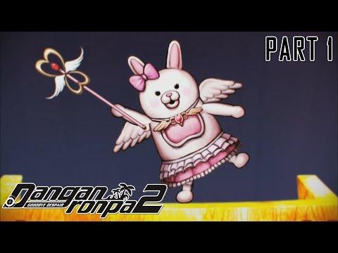 Usami Si Robot Kelinci! - Danganronpa 2: Goodbye Despair (Indonesia) - Part 1