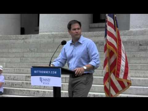 Senator Marco Rubio Visits Columbus, Ohio