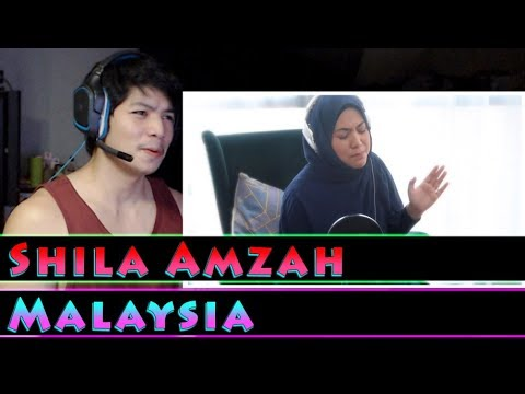 Shila Amzah - Speechless  Raungan Suara  沉默 - RandomPude Reaction