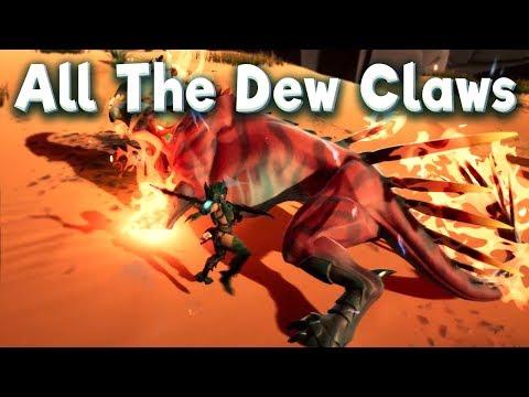 Farming Smoked DewClaws in Dauntless