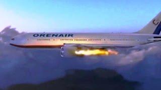 В Доминикане после взлета загорелся российский самолет -11.02.2016