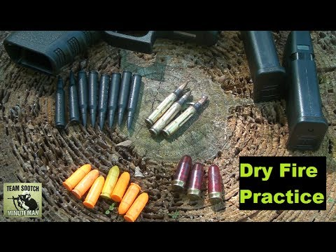 Dry Fire Practice: No Ammo Required