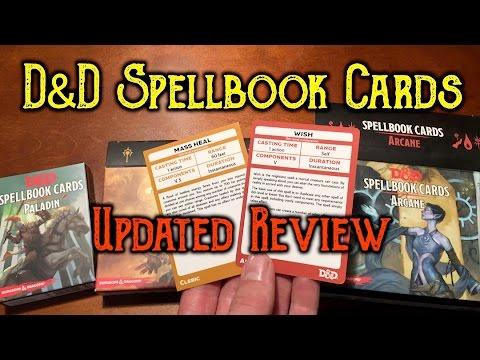 D&D Spellbook Cards - Updated Review (1st run vs  2nd run)