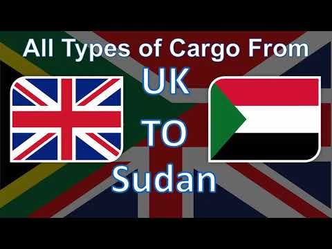 The Best Cargo and Parcel Shipping Services from UK to Sudan at the most Affordable Prices