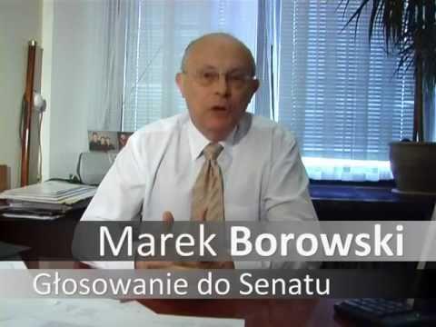 Marek Borowski o sposobie głosowania do Senatu
