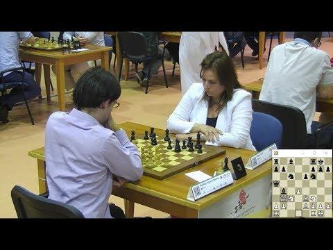 MAXIME VACHIER-LAGRAVE VS JUDIT POLGAR - WORLD BLITZ CHESS CHAMPIONSHIP 2014