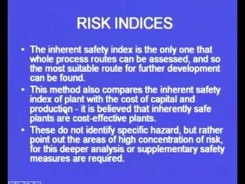 Mod-4 Lec-19 Industrial Safety