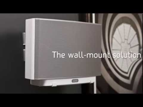 Flexson How to wall mount your SONOS Play5 speaker  YouTube