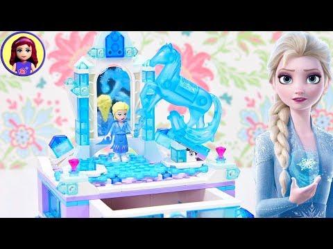 Lego Frozen 2 Elsa's Jewelry Box Speed Build
