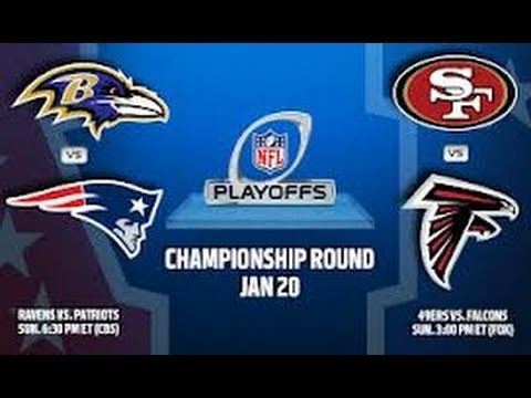 2013 AFC NFC Championship Playoffs Picks