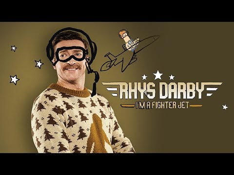 Rhys Darby I'm A Fighter Jet-Clip