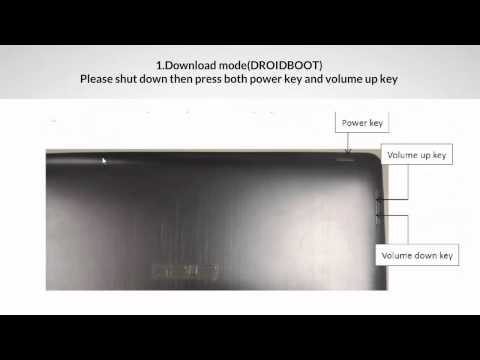 How To Asus Tablet TX201LA Android Firmware Update