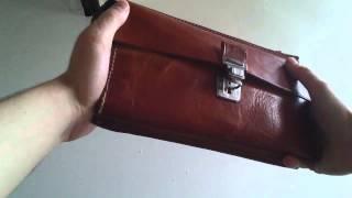 Review men's man bag