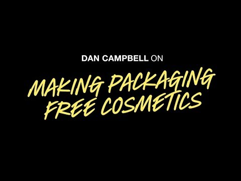 One Minute With... Dan Campbell on Packaging Free Cosmetics