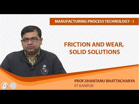Friction and Wear Solid Solutions
