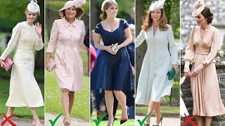 The dream dress and fashion nightmares at Pippa's wedding