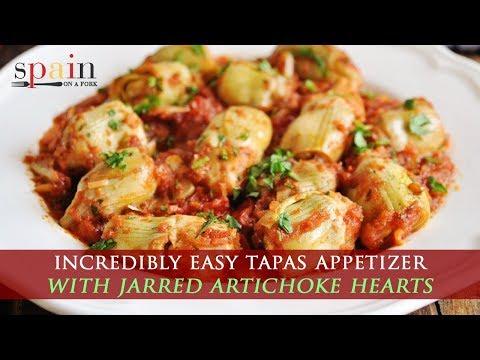 Easy Jarred Artichoke Hearts Recipe With Spicy Tomato Sauce