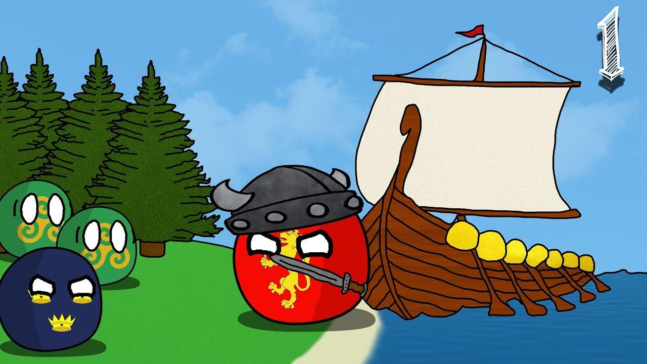 Viking domination of ireland seems very