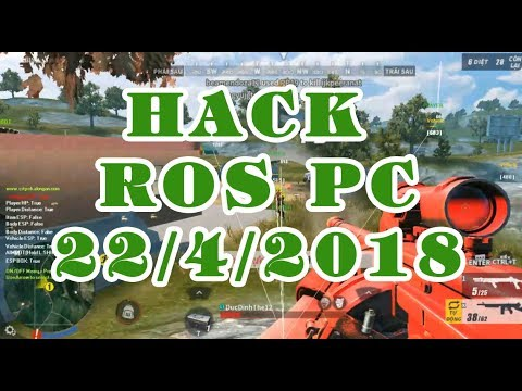 [ROS PC] 3.0 Part 2   Hướng dẫn Hack Wall, AimBot, Speed  Cách Hack Rules of survival on PC ROS