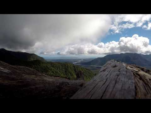 View from Volcano Chaiten - Chile - Time lapse
