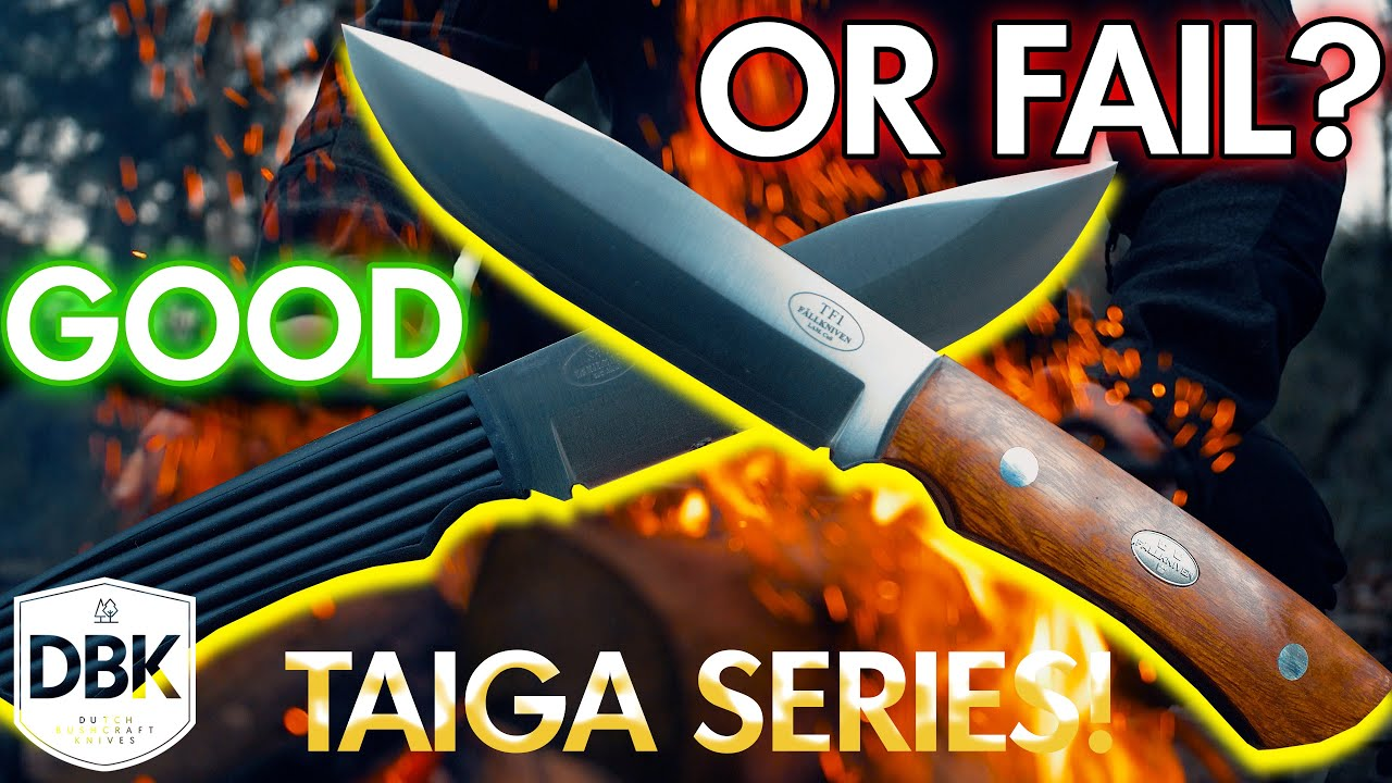Fallkniven has NEW Knives!! | The Taiga, GOOD or FAIL?