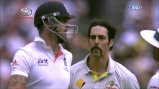 Mitchell Johnson vs Kevin Pietersen The Ashes 2013