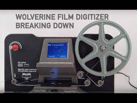 Repair And Fix A 1st Model Wolverine Film2Digital MovieMaker 8mm Digitizer