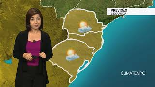 Previsão Sul – Rajadas de vento moderadas