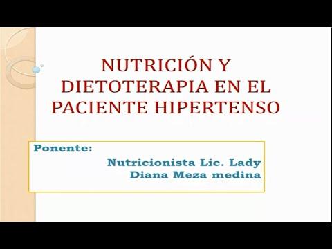 NUTRICIÓN Y DIETOTERAPIA EN PACIENTES HIPERTENSOS