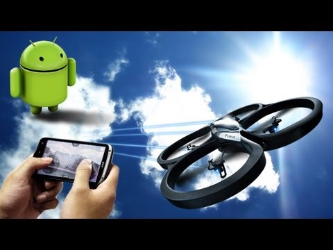 AR.Drone: Piloting now possible on Android™