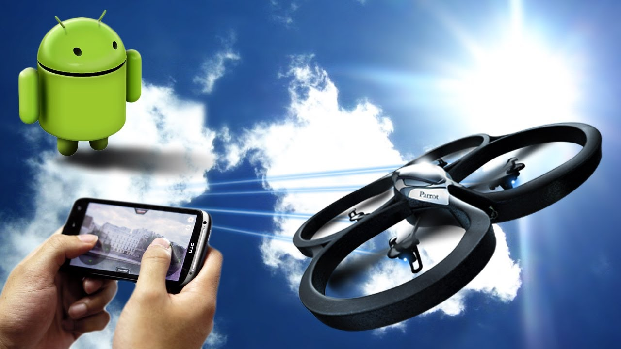 AR Drone: Piloting now possible on Android™