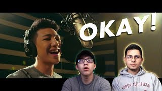 GUYS REACT TO Darren Espanto 'Dying Inside' (from All of You)