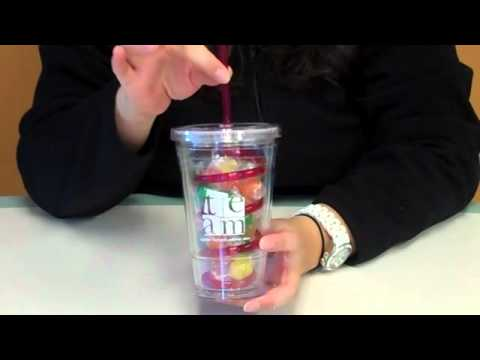Baudville's Candy Filled Twist Top Tumbler