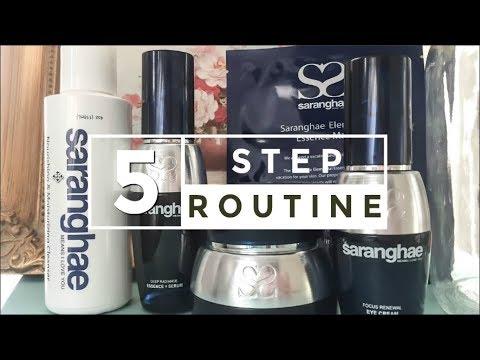 Saranghae Review : 5 Step Anti-Aging Korean Skincare Products 2017