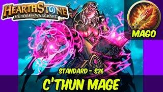 Guia Deck Mago de C'Thun (C'Thun Mage) S26 Standard - HEARTHSTONE