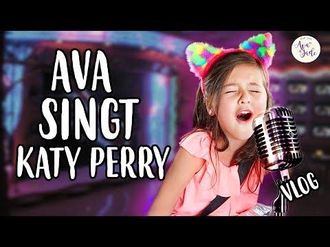 Ava singt KATY PERRY 👩🎤  ROAR 💕 Our Life Ava & Jade VLOG