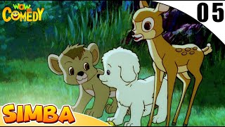 Simba - The Lion King | Jungle Stories In Hindi | EP 05 | Wow Kidz Comedy