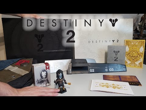 UNBOXING DESTINY 2 - COLLECTOR'S EDITION